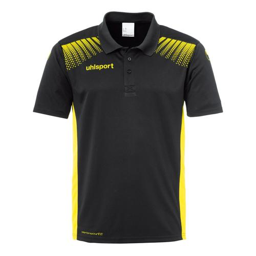 Polo Goal Uhlsport PES noir/jaune