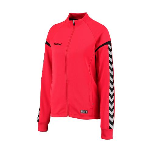 Veste femme Hummel Club Authentic Charge Rouge