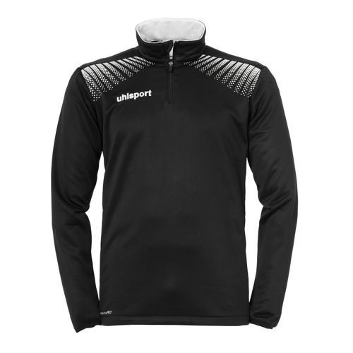 Sweat-shirt 1/2 zip Uhlsport Goal Noir/Blanc