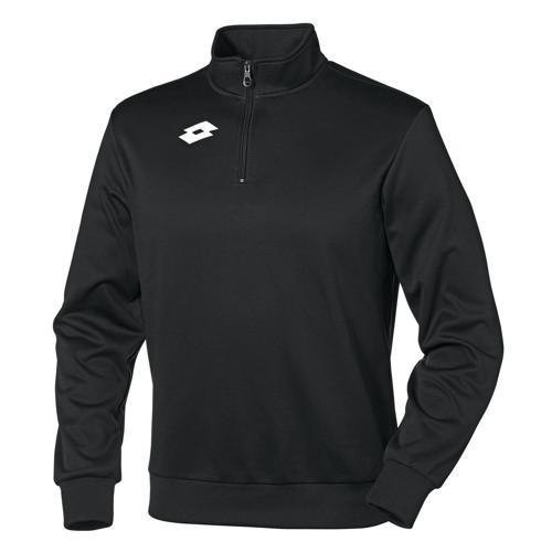 Sweat-shirt enfant Lotto 1/2 zip Delta Noir
