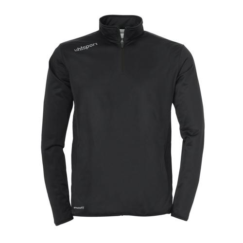 Sweat-shirt 1/2 zip Uhlsport Essential Noir
