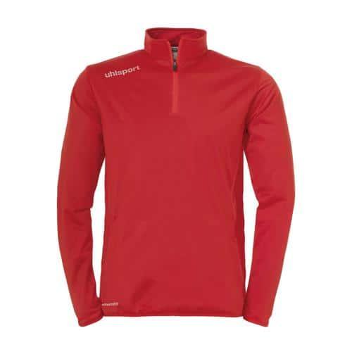 Sweat-shirt 1/2 zip Uhlsport Essential Rouge