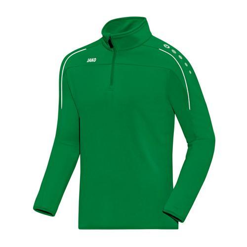 Sweat enfant 1/2 zip Jako Classico Vert