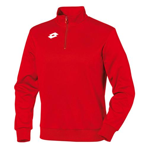 Sweat-shirt enfant Lotto 1/2 zip Delta Rouge