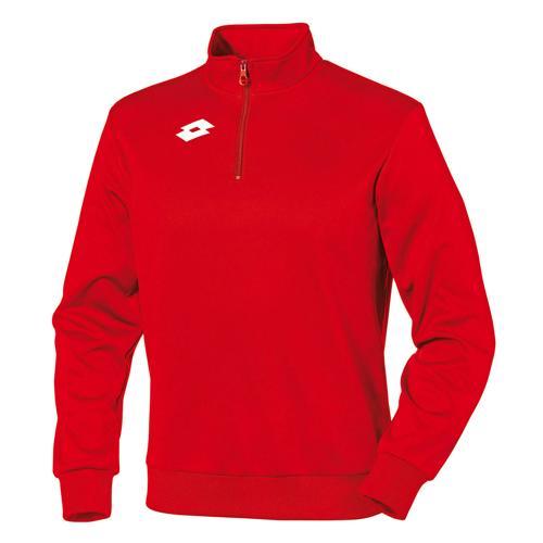 Sweat-shirt Lotto 1/2 zip Delta Rouge