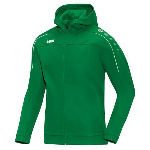 Veste à capuche Jako Classico Vert