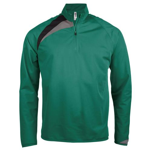 Sweat 1/2 zip Casal Sport Training Vert