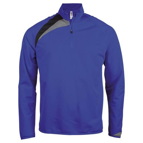 Sweat 1/2 zip Casal Sport Training Royal