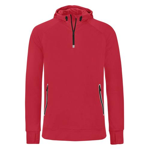 Sweat à capuche 1/2 zip Casal Sport Training