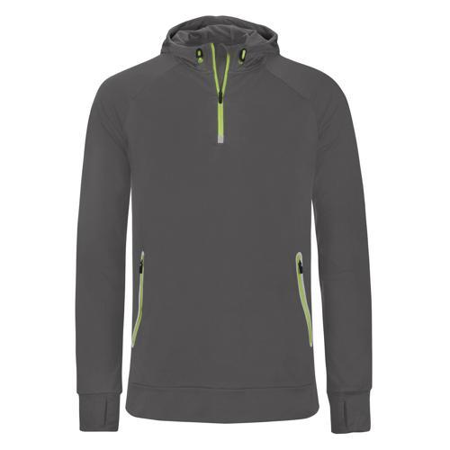 Sweat à capuche 1/2 zip Casal Sport Training