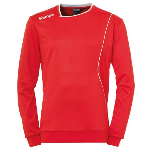 Sweat Kempa Curve Training Top Rouge/Blanc