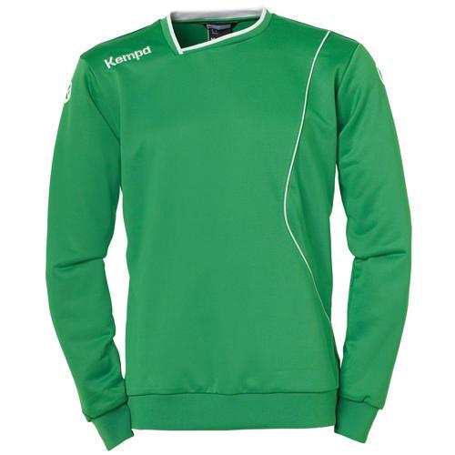 Sweat Kempa Curve Training Top Vert/Blanc