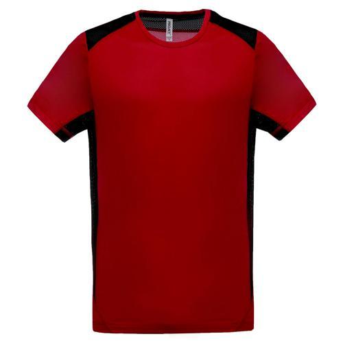 T-shirt Bicolore Unity PES Rouge/Noir Tech Casal
