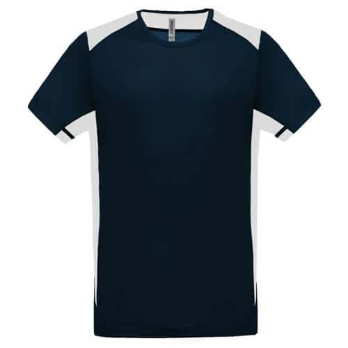 T-shirt Bicolore Unity PES Marine/Blanc Tech Casal