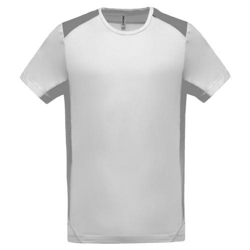 T-shirt Bicolore Unity PES Blanc/Gris Tech Casal