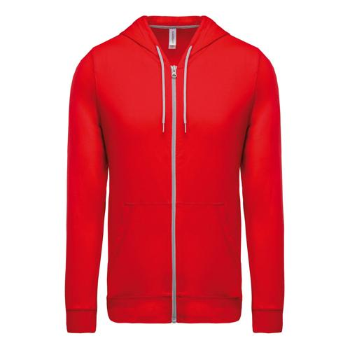 Veste Casal Sport Coton Indoor Rouge Tech