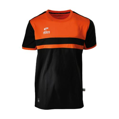 T-Shirt Eldera Allure Noir/Orange