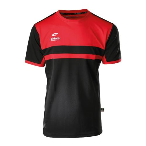 T-Shirt Eldera Allure Noir/Rouge