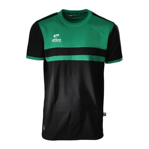 T-Shirt Eldera Allure Noir/Vert