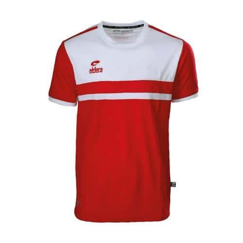 T-Shirt Eldera Allure Rouge/Blanc