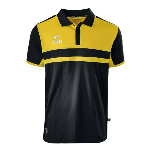 Polo Eldera Allure Noir/Jaune