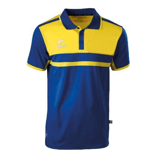 Polo Eldera Allure Royal/Jaune