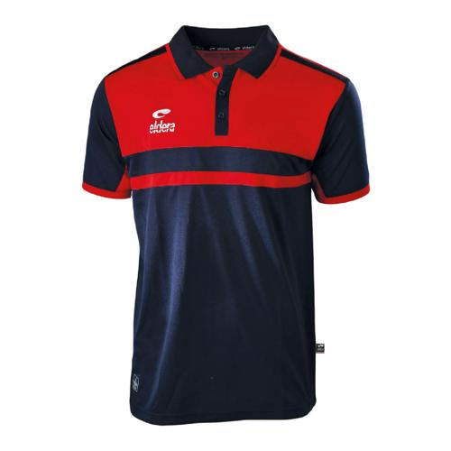 Polo Eldera Allure Marine/Rouge