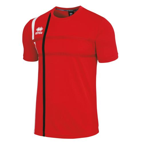 Tee-shirt Errea Mateus Rouge/Noir/Blanc