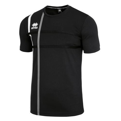 Tee-shirt Errea Mateus Noir/Gris/Blanc