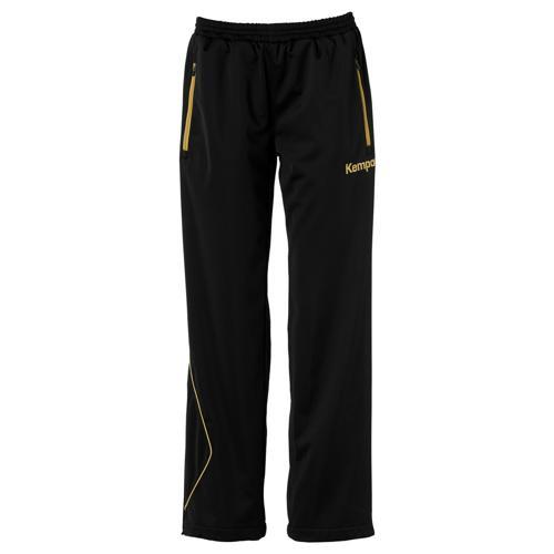 Pantalon féminin Kempa Curve Classic Noir/Or