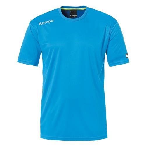 Tee-shirt Kempa Poly Core Bleu