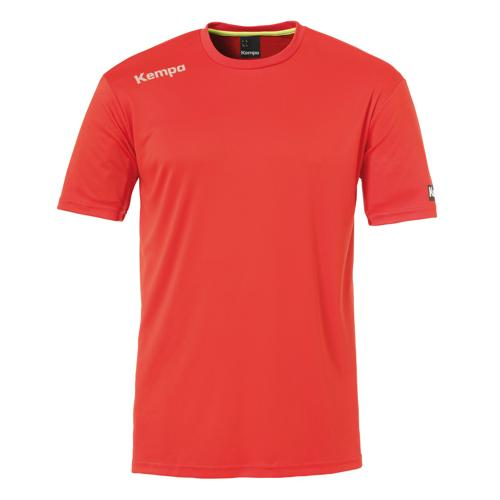 Tee-shirt Kempa Poly Core Rouge