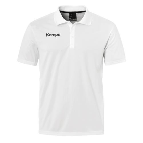 Polo Kempa Poly Core Blanc