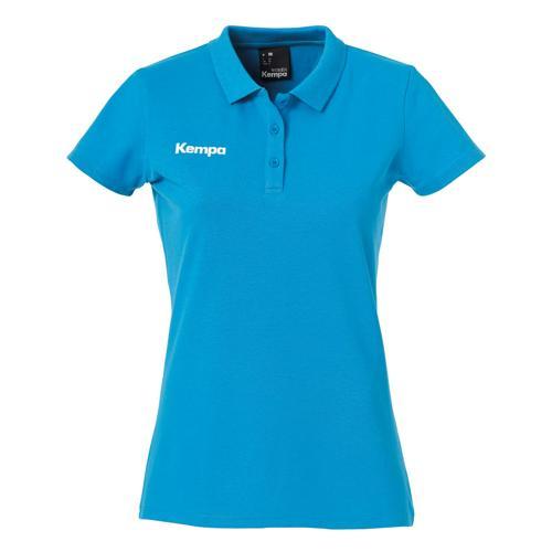 Polo feminin Kempa Poly Core Bleu