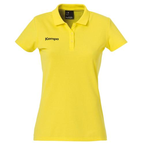 Polo feminin Kempa Poly Core Citron