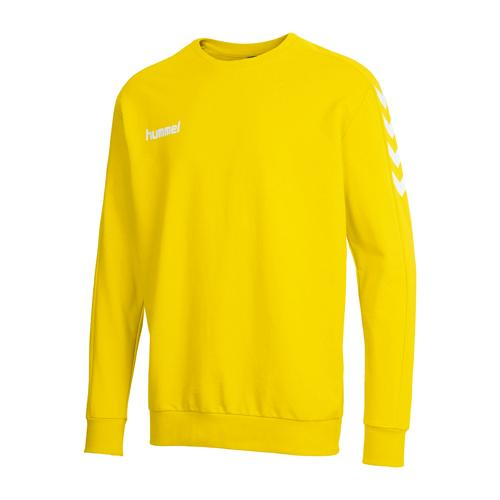 Sweat Hummel Core Top Junior jaune Hummel