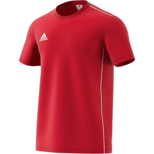 Tee-shirt Top Core 18 Rouge adidas