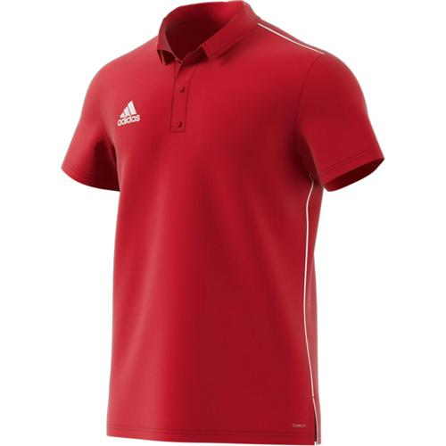 Polo PES Core 18 Enfant Rouge adidas