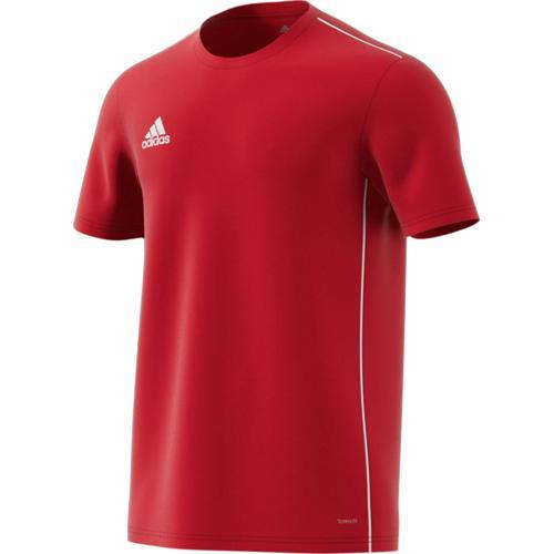 Tee-shirt Training PES Core 18 Rouge adidas
