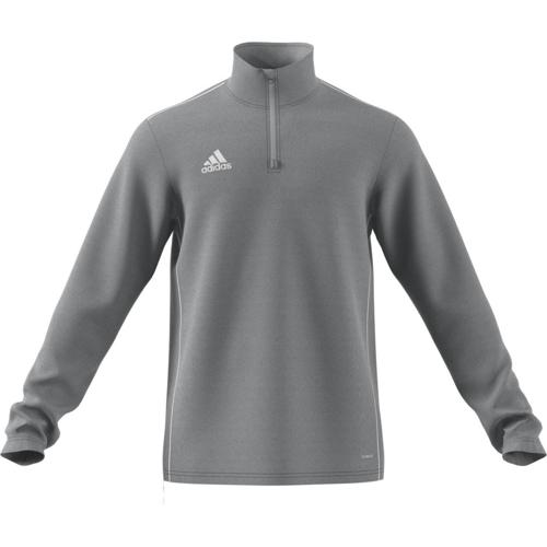 Sweat 1/2 zip Training Core 18 Gris adidas
