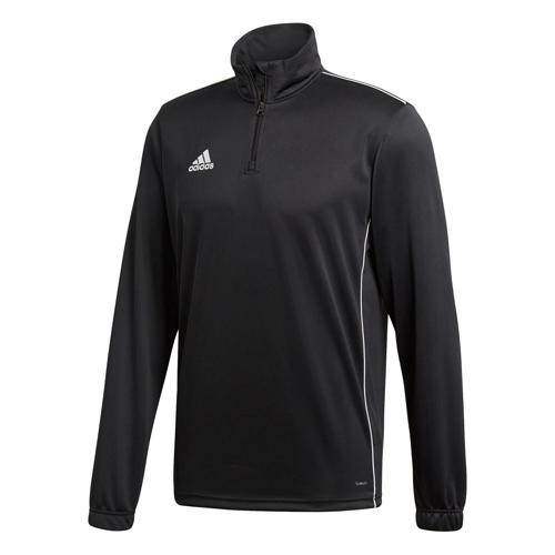 Sweat 1/2 zip Training Core 18 Noir adidas