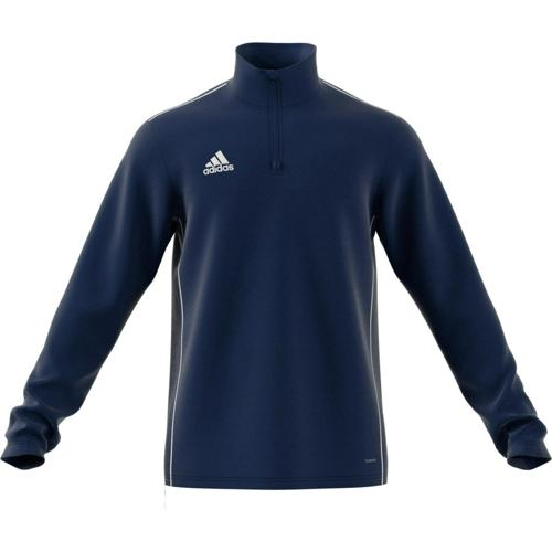 Sweat 1/2 zip Training Core 18 Marine adidas