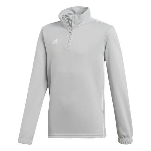 Sweat 1/2 zip Training Core 18 Enfant Gris adidas