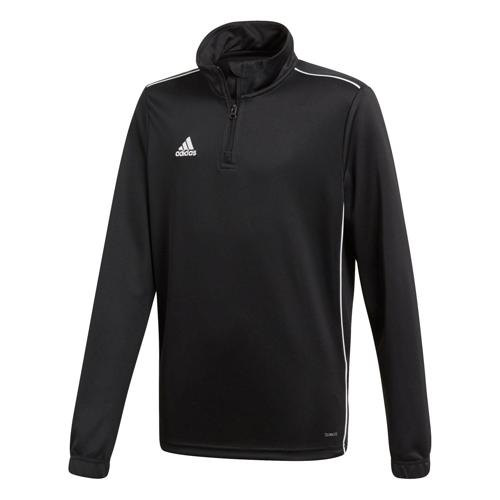 Sweat 1/2 zip Training Core 18 Enfant Noir adidas