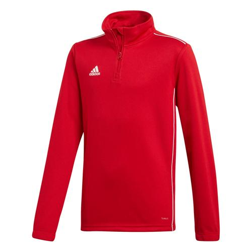 Sweat 1/2 zip Training Core 18 Enfant Rouge adidas