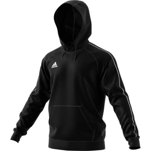 Sweat Capuche Core 18 Noir adidas - Casalsport.