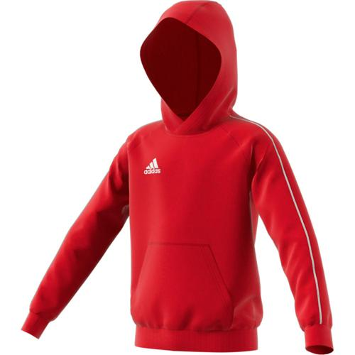 Sweat a capuche rouge adidas
