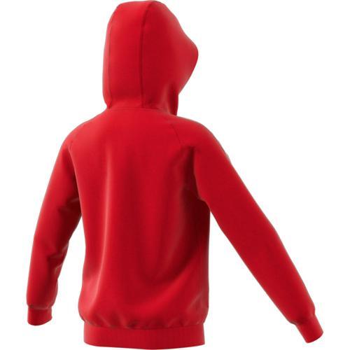 Sweat Capuche Core 18 Enfant Rouge adidas