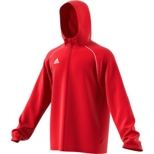 Veste coupe vent Core 18 Rouge adidas