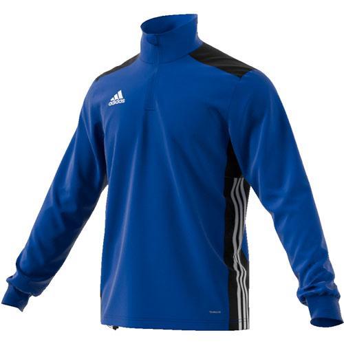 Sweat 1/2 Zip Training Regista 18 Royal/Noir/Blanc adidas
